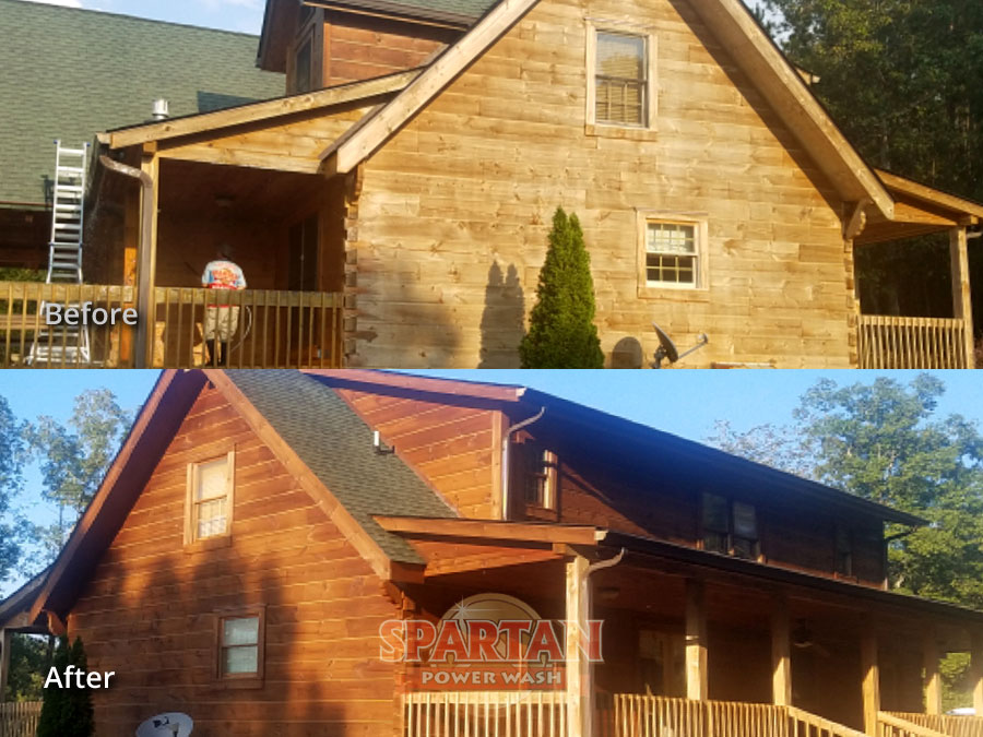 Wood Siding Cleaning Restoration Columbia SC